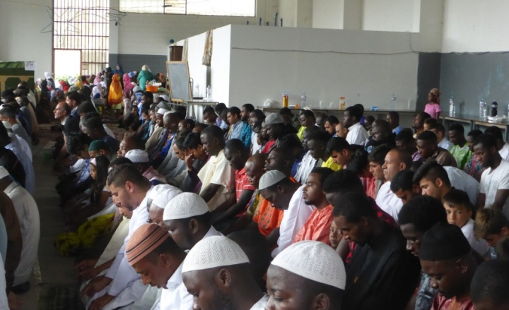 Festa di fine Ramadan a Parco Dora, Appendino:
