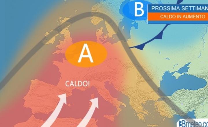 Ondata di caldo africano: nel fine settimana picchi di 37-38°